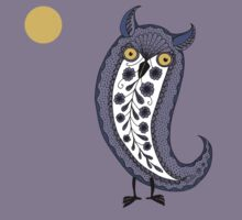 Paisley Night Owl Kids Clothes