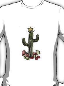 Xmas Saguaro T-Shirt