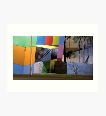 Variations on a theme (Museum 2) Art Print