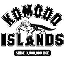 Komodo Islands Varsity Distressed Black by noroads