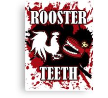 Rooster Teeth Splatter Canvas Print