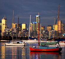 Williamstown Harbour by mgimagery