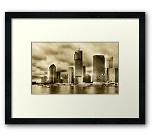 Brisbane Riverside... Framed Print