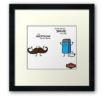 Mo' Pun-ny, Mo' Problems Framed Print