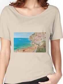 Vista su Positano Women's Relaxed Fit T-Shirt
