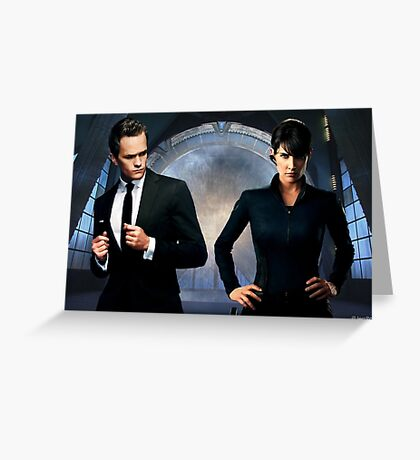 How I met Maria Hill Greeting Card