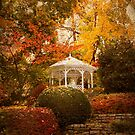 Autumn Gazebo by Jessica Jenney