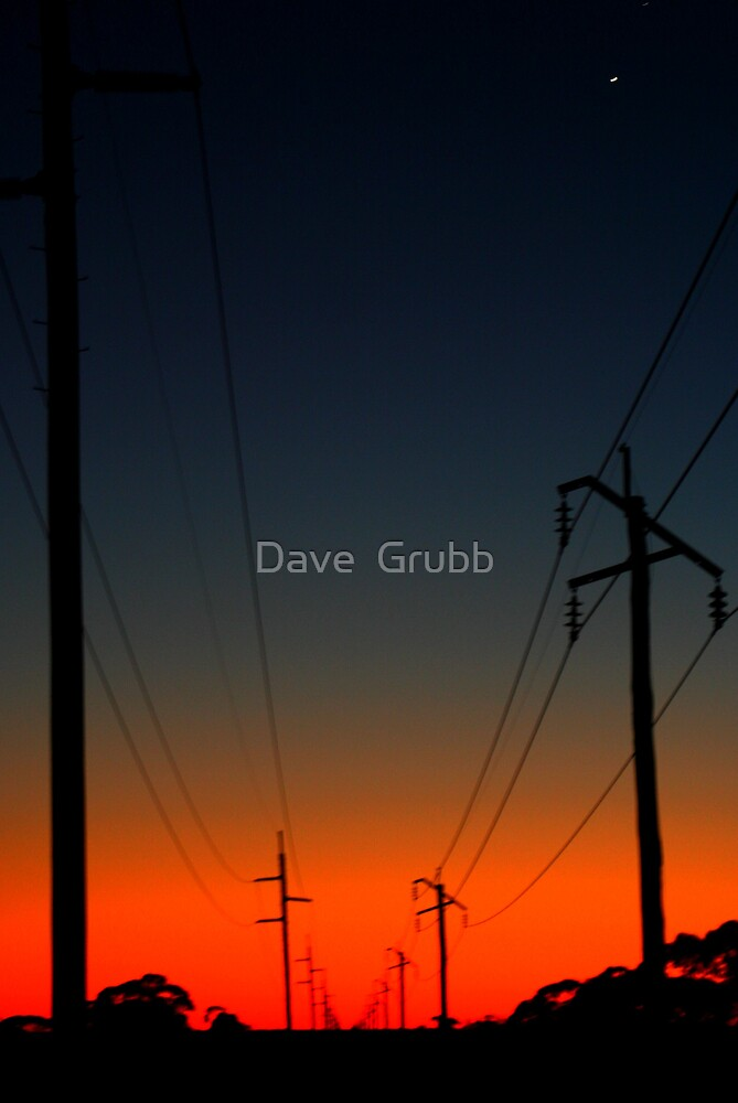 Distant Power by Dave  Grubb
