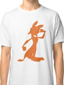 Daxter Silhouette - Orange Classic T-Shirt