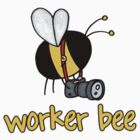 Worker Bee - photographer by Corrie Kuipers