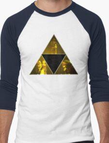 Legend of Zelda Triforce Men's Baseball ¾ T-Shirt