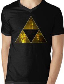 Legend of Zelda Triforce Mens V-Neck T-Shirt