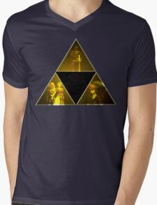 Legend of Zelda Triforce Mens V-Neck T-Shirt