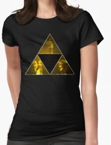 Legend of Zelda Triforce Womens Fitted T-Shirt
