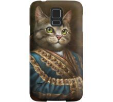 The Hermitage Court Outrunner Cat  Samsung Galaxy Case/Skin