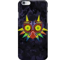 Majora's Mask Splatter (No Background) iPhone Case/Skin