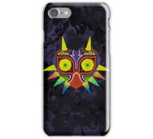 Majora's Mask Splatter (No Background) iPhone Case/Skin