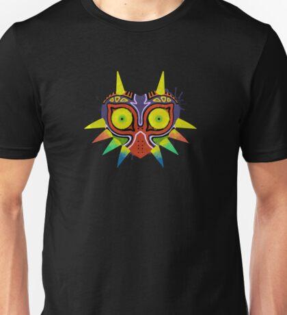 Majora's Mask Splatter (No Background) Unisex T-Shirt