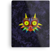 Majora's Mask Splatter (No Background) Metal Print