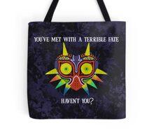 Majora's Mask Splatter (Quote No Background) Tote Bag