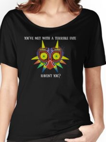 Majora's Mask Splatter (Quote No Background) Women's Relaxed Fit T-Shirt