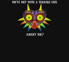 Majora's Mask Splatter (Quote No Background) Unisex T-Shirt