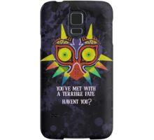 Majora's Mask Splatter (Quote) Samsung Galaxy Case/Skin