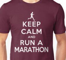 Keep Calm and Run a Marathon Male (DS) Unisex T-Shirt