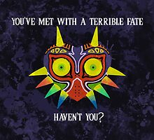 Majora's Mask Splatter (Quote) by Greytel
