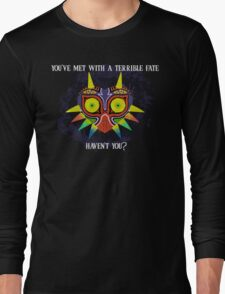 Majora's Mask Splatter (Quote) Long Sleeve T-Shirt