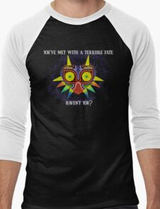 Majora's Mask Splatter (Quote) Men's Baseball ¾ T-Shirt