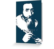 Johannes Kepler Greeting Card