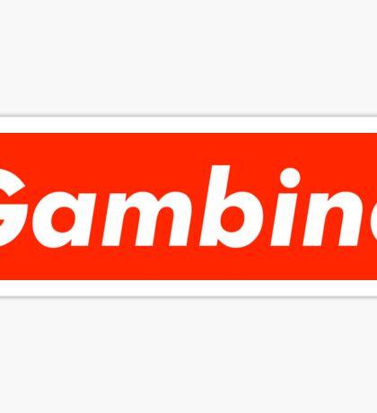 Childish Gambino x Supreme Sticker