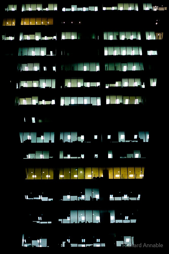 City Lights by Richard Annable