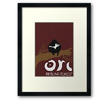Ori And The Blind Forest Poster Framed Print