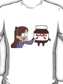 Gravity Falls - Mabel and Nutella T-Shirt