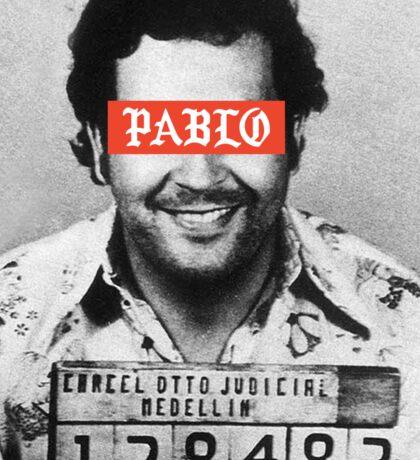 Pablo Escobar x Supreme Sticker