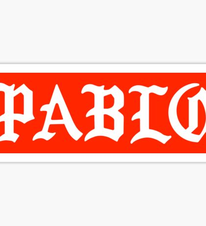 Saint Pablo x Supreme Sticker