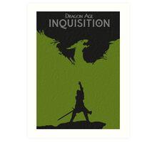 Dragon Age Inquisition Art Print