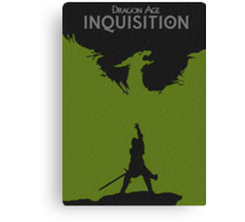 Dragon Age Inquisition Canvas Print