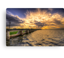 Our Changing Weather Canvas Print