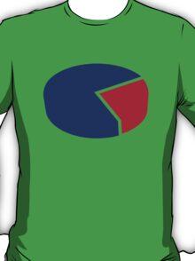 Pie chart diagram T-Shirt