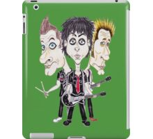 Punk Rock Caricature Drawing iPad Case/Skin