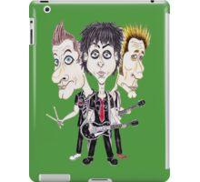 Punk Rock Caricature Drawing iPad Case/Skin