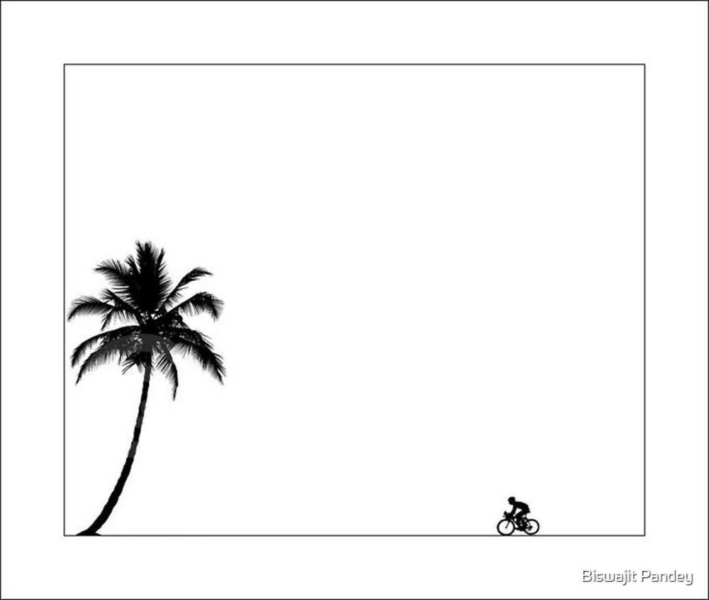 ...Biking... by Biswajit Pandey