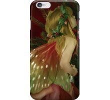 Christmas tree fairy II iPhone Case/Skin