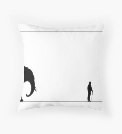 ...Follower... Throw Pillow