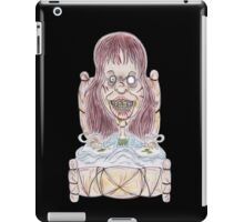 Horror Movie Possessed Caricature iPad Case/Skin