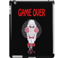 Horror Movie Game Over Caricature iPad Case/Skin
