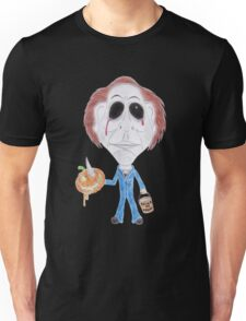 Horror Movie Serial Killer Caricature Unisex T-Shirt
